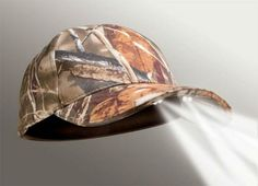 Panther Vision Realtree Max-5 Camo PowerCap with 4 LED Lights -- This is an Amazon Affiliate link. Read more at the image link.