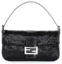 (CLICK IMAGE TWICE FOR UPDATED PRICING AND INFO) #eveninghandbags #women bags #bag #handbags #bridalbags #clutches #signaturehandbag Fendi Baguette Black Sequin Evening Handbag  - See More Women Evening Handbags at http://www.zbuys.com/level.php?node=6409=womens-evening-handbags