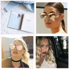 We all know someone who is really hard to shop for, this is why I have created the Gift Guide for those who have everything Round Sunglasses, Sunglasses Women, Gift Guide, Everything, Shop, Hair, Gifts, Fashion, Presents