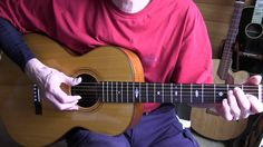 Lesson Fingerpicking Mance Lipscomb's Charley James - TAB available