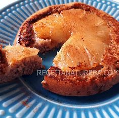 Bolo de Abacaxi com Aveia Sweet Recipes, French Toast, Muffin, Food And Drink, Low Carb, Gluten, Baking, Cheese, Healthy