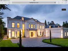 7 bedroom detached house for sale in Leys Road, Oxshott, Surrey - Rightmove. Mansions Homes, Classic House, Surrey, Detached House, Property For Sale, Home Goods, House Styles, House Exteriors, Blessings