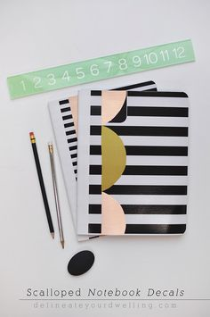 DIY Scallop Notebook