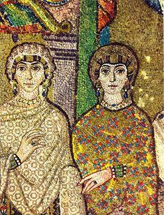 Mosaic: Byzantine Italy. Basilica di San Vitale, Ravenna