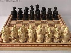 George and the Dragon Plain Theme Chess Set