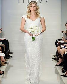 Theia amazingly simple runway boho dress