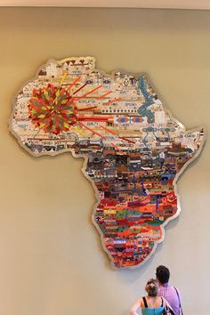 Mother Africa - discover the breathtaking local artworks with on a Moses Mabhida Stadium tour Stadium Tour, Boho Shorts, Africa, Tours, Artworks, Art Pieces, Afro, Art