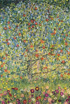 Apple Tree, by Gustav Klimt