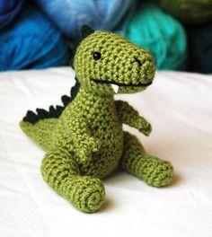 Baby T-Rex Dino Amigurumi Plush Pattern