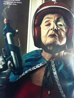 Cool Grandma...