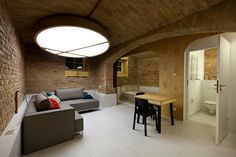 mili mlodzi ludzie constructs livable basement in 19th century vaults