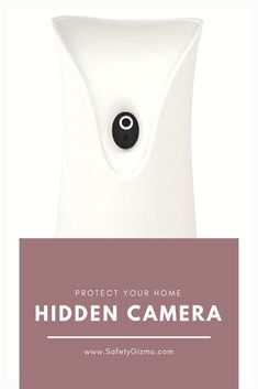 A camera is cleverly hidden in a air freshener, protecting your home. Security Surveillance, Security Alarm, House Security, Video Security, Security Service, Wireless Video Camera, Wireless Home Security Systems, Home Defense