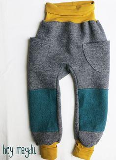 Hosen - Wollwalk Outdoor Hose - ein Designerstück von hey-magdu bei DaWanda