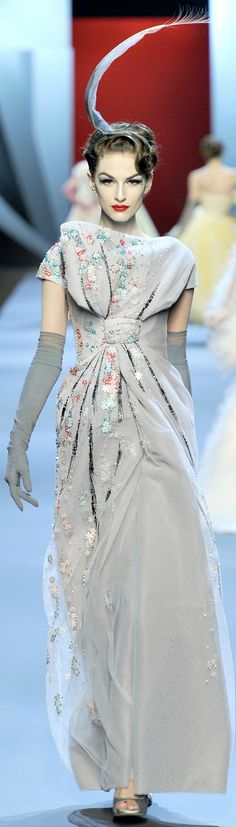 Christian Dior Haute Couture Spring Summer 2011 collection
