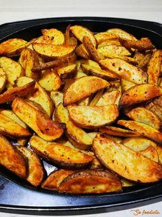 Country potatoes au four Four, Ratatouille, Ramadan, Sweet Potato, Hamburger, Vegetables, Ethnic Recipes, Other Recipes