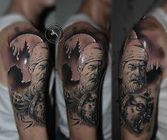 Decebal tattoo