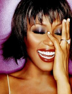 Whitney Houston. One of the best female singers that ever lived.
