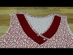 Cat may đô bô nu. Ao kieu đo bo nu. Kiểu so 11. .ĐAM MÊ MAY VA HANA NGUYÊN. - YouTube Neck Designs For Suits, Neckline Designs, Dress Neck Designs, Blouse Designs, Churidar Neck Designs, Kurta Neck Design, Kurta Designs Women, Clothing Store Displays, Sewing Collars