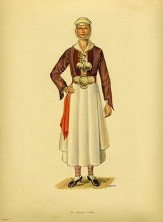 Traditional women's costumes from Pogoni, Epirus, Greece Greek Traditional Dress, African Traditional Dresses, Traditional Outfits, Geek Fashion, Ethnic Fashion, Lolita Fashion, Emo Dresses, Fashion Dresses, Party Dresses