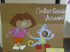 "Photo 1 of 31: Dora the Explorer / Birthday ""Amarah's aDORAble 2nd Birthday"" 