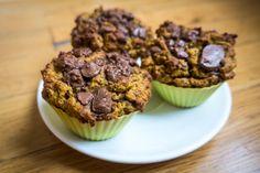 Muffiny bez mouky a cukru | recept. Muffiny jsou oblíbenou pochoutkou. Pečeme je na různé způsoby. Připravila jsem pro vás