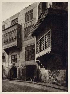 """Authentic antique photogravure 15 * 22 cm .. """"Bab Al Wazeer"""" scene ... 1929 ... For more info please call us at +201002233596 or email: legarage_egypt@hotmail.com  Available to deliver anywhere in the world  #Egypt #Antique #Old_Photo #Vintage"""