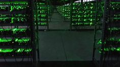 INSIDE ONE OF THE WORLD'S LARGEST BITCOIN MINES