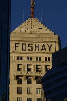 Foshay Tower in downtown Minneapolis