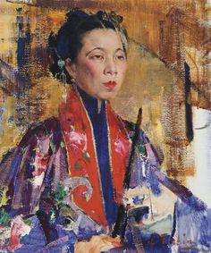 Fechin. Portrait-of-a-Lady (Личные)