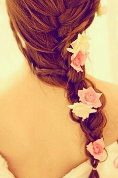 Prom hair?(:
