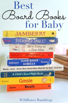 the best board books for baby - Wildflower Ramblings