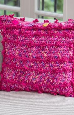 Free Crochet Pattern Bolster Pillow : Crochet/pillows on Pinterest Crochet Pillow, Granny ...