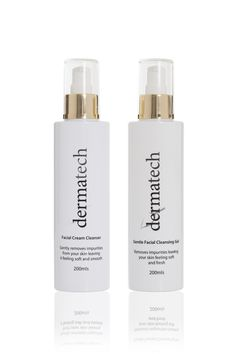 Dermatech cleansers are paraben-free and formulated to effectively remove make-up, dirt and oil, and clear pores of pollutants.  They are gentle so as not to strip the skin and therefore will not compromise the protective function of the skin. The ingredients take cleansing a step further to aid in the reduction of fine lines and wrinkles and enhance absorption of serums, masks and moisturisers.