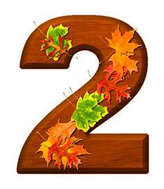 Zahl - Nummer - Number / 2 - Zwei - Two (Herbst / Autumn / Fall)