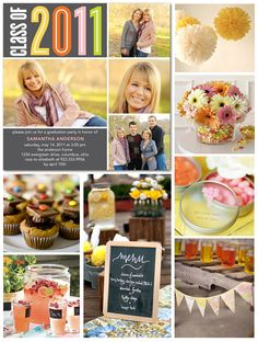Graduation Party Inspiration Board