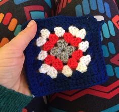 Granny Square - Jets Colours