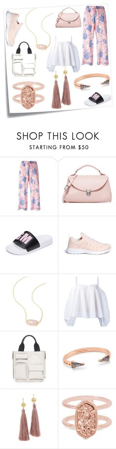 """""""Fashion forever"""" by ramakumari ❤ liked on Polyvore featuring Post-It, P.A.R.O.S.H., The Cambridge Satchel Company, MSGM, Athletic Propulsion Labs, Kendra Scott, Anna October, Marni and Gorjana"""