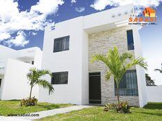 #sadasi LAS MEJORES CASAS DE MÉXICO. En nuestro desarrollo Las Américas, le ofrecemos el modelo de vivienda MÉRIDA PLUS, el cual está acondicionado con sala a doble altura, comedor, cocina con desayunador de granito, 3 recámaras, 3 baños completos, protectores, mosquiteros y patio de servicio. En Grupo Sadasi, le invitamos a comprar su casa en nuestros desarrollos de Yucatán, donde le encantará vivir. jperez@sadasi.com