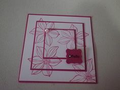 convention 2013 swap, Stampin Up,