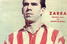 Telmo Zarra mejor delantero de la década de los 40