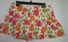 Lot of 2 -  One Step Up Mini Skirts Floral New Size Medium  #OneStepUp #Mini