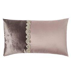 Kylie Minogue at home Pale pink 'Rivella' cushion- at Debenhams.com
