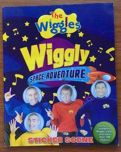 The Wiggles Space Adventure Sticker Scene Kids Book - 6 Scenes & 100…