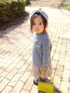 Little Girl Fashion, Toddler Fashion, Kids Fashion, Cute Little Girls, Cute Kids, Kids Girls, Baby Kids, Kool Kids, Child Models