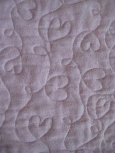 All Things Quilty: Heart Quilt...and Mouse Tales Update