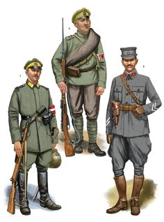 Latvian war of Independence Russian Revolution 1917, American Revolution, World War One, First World, Army Uniform, Military Uniforms, Independence War, Ww1 Soldiers, Military Insignia