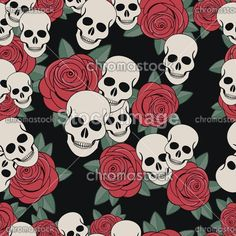Róże i czaszki