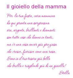 poesia mamma - Cerca con Google