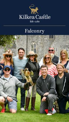 Kilkea Castle provides an unforgettable falconry experience for groups, families, and individuals. Book your reservation today!