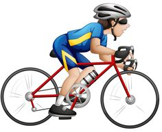 """Photo from album """"Велоспорт"""" on Yandex. Bicycle Painting, Transportation Theme, Space Theme, Kids Sports, Masculine Cards, Art For Kids, Kid Art, Physical Education, Clipart"""